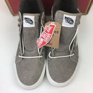 3107aebaa6820b Vans Shoes - Vans SK8 Hi MTE Denim Suede Coriander Women s 10